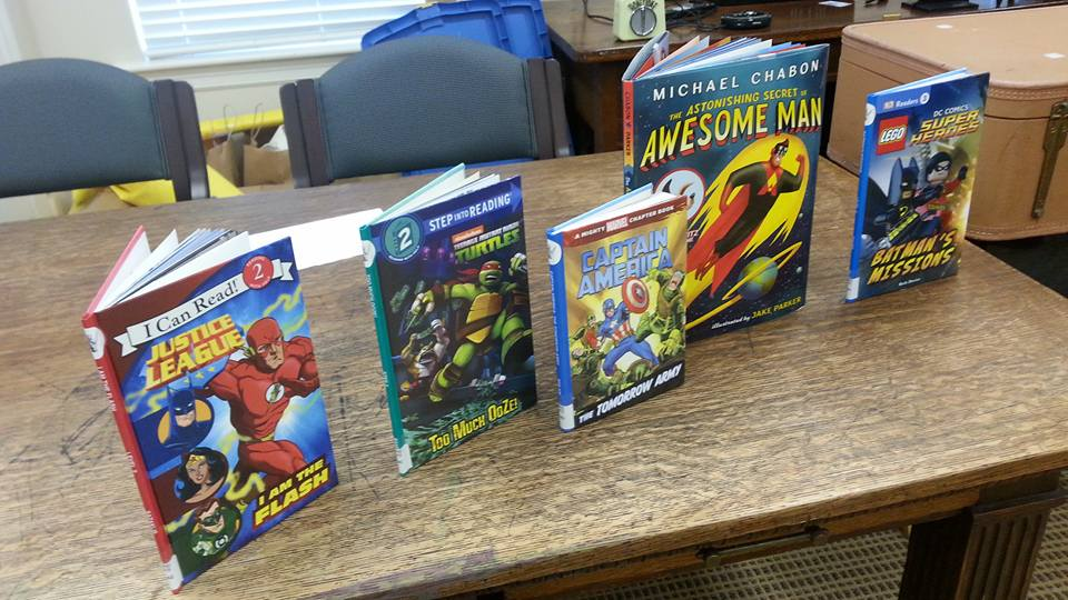Super Hero Books!