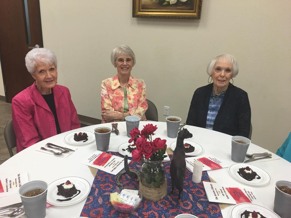 Author's Luncheon Kerens Library