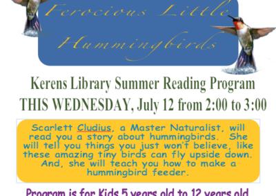 Summer Program July 12